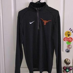 Nike Longhorn Dri Fit Half Zip